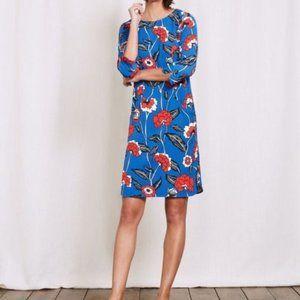 Boden Isabelle Dress Tunic Blue Day Dress 8L UK12L